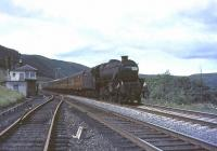 Black 5 no 45072 passing Greskine on 31 July 1965 with an up CTAC special. <br><br>[John Robin&nbsp;31/07/1965]