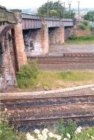 The old bridge at Greenhill Lower in 1990, since replaced. [See image 6666]<br><br>[Ewan Crawford&nbsp;//1990]