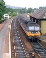 Southbound at Pitlochry in 1990.<br><br>[Ewan Crawford&nbsp;//1990]