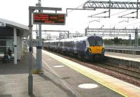 The 0938 Edinburgh - Milngavie arriving at Bathgate on 15 May 2015.<br><br>[John Furnevel&nbsp;15/05/2015]