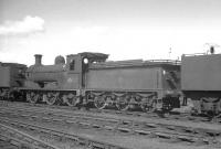 Ex-NB J36 0-6-0 65327 stands out of use in the shed yard at Thornton Junction on 19 October 1965, one month before its official withdrawal by BR. <br><br>[K A Gray&nbsp;19/10/1965]