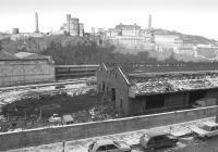 View north over Waverley Goods in January 1985 with the sheds being demolished.<br><br>[Bill Roberton&nbsp;26/01/1985]