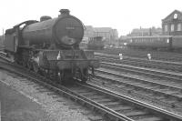 York based B16 4-6-0 61444 runs north light engine through Doncaster on 28 July 1962.<br><br>[K A Gray&nbsp;28/07/1962]