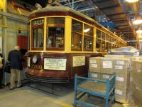 Streetcar 2766 preserved in the Toronto Transport Commission's <I>Harvey Shops</I> maintenance facility in May 2015.<br><br>[John Yellowlees&nbsp;28/05/2015]