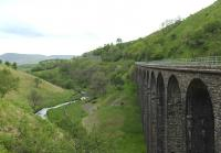 Smardale Gill Viaduct on the SDLUR trackbed between Tebay and Kirkby Stephen in June 2015.</br><br> Percy Beck, Tees, Deepdale, (the mighty) Belah, Hatygill, Merrygill, Podgill, Smardale Gill... Bouch had his work cut out on this line.<br><br>[Brian Taylor&nbsp;08/06/2015]