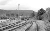 Looking west over Crianlarich Lower yard in 1985.<br><br>[Bill Roberton&nbsp;//1985]