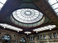-and these are the overheads. In older stations, sometimes it pays to look up. This area has been converted to retail use, which hasn't done much for its appearance at ground level; but the ceiling still looks good.<br><br>[Ken Strachan&nbsp;16/07/2015]