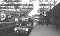 B1 4-6-0 61278 at Carlisle on the afternoon of 3 December 1966 with the BR Scottish Region <I>Last B1 excursion</I>. The special is waiting to return to Edinburgh via the Waverley route.<br><br>[K A Gray&nbsp;03/12/1966]