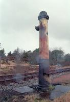 Water column at the south end of Altnabreac in 1994.<br><br>[Ewan Crawford&nbsp;30/12/1994]