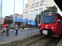 Old and new motive power at Belgrade in July 2015.<br><br>[John Yellowlees&nbsp;25/07/2015]