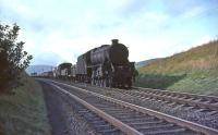 Black 5 45009 south of Lamington with a down freight on 26 September 1964.<br><br>[John Robin&nbsp;26/09/1964]