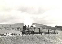 Ex-LMS 2P 4-4-0 40574 leaving Waterside on 28 March 1959 heading for Ayr.<br><br>[G H Robin collection by courtesy of the Mitchell Library, Glasgow&nbsp;28/03/1959]