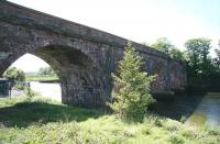 Railway bridge over the River Annan just west of Annan station, photographed in May 2007 from the east bank of the river. [Ref query 6889]<br><br>[John Furnevel&nbsp;30/05/2015]
