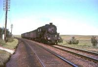 Kingmoor Black 5 45259 just west of Craigenhill on 16 July 1965 with a down parcels train. <br><br>[John Robin&nbsp;16/07/1965]