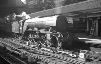 A3 Pacific 60073 <I>St Gatien</I> with a down freight at Newcastle Central in the spring of 1962.<br><br>[K A Gray&nbsp;//1962]