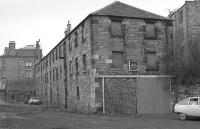 The former goods shed at St Leonards terminus in 1977. Later used as <I>The Engine Shed</I> cafe. Since closed and currently (August 2015) being considered for use as a single malt distillery. [See image 17655]<br><br>[Bill Roberton&nbsp;//1977]