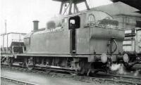 LMS <I>Jinty</I> 47269 on Upperby shed in the summer of 1962.<br><br>[John Robin&nbsp;24/06/1962]