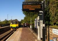 The 16.57 to Bletchley arrived well ahead of time, and departed on time - which didn't stop someone thinking she'd missed it. [see image 52616]<br><br>[Ken Strachan&nbsp;10/09/2015]
