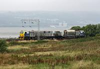 It's <i>'Leaf Train'</i> time again. An MPV heads east at Cardross.<br><br>[Ewan Crawford&nbsp;05/10/2015]