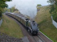 60009 nears Gorebridge with the Borders steam train on 11 October.<br><br>[Bill Roberton&nbsp;11/10/2015]