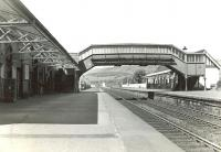 The smart looking station at West Kilbride on 24 May 1960. View is north towards Fairlie. <br><br>[G H Robin collection by courtesy of the Mitchell Library, Glasgow&nbsp;24/05/1960]