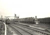 N15 0-6-0T 69208 shunting at Kelvinhaugh Junction on 28 May 1957. <br><br>[G H Robin collection by courtesy of the Mitchell Library, Glasgow&nbsp;28/05/1957]