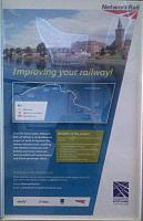 A poster advertising improvement to the Inverness to Aberdeen route has been displayed at stations along the line.<br><br> <br><br> For further details see the <a target='external' href='http://www.transportscotland.gov.uk/project/aberdeen-inverness-rail-improvements'>Network Rail site</a>.<br><br>[John Yellowlees&nbsp;02/11/2015]