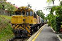 The 14.00 to Cairns waits for time on 27/9/15.<br><br>[Colin Miller&nbsp;27/09/2015]