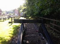 So that's why they call it a branch line. The siding behind the signal box at Highley needs some vegetation clearance on 26th August. [See image 41609] for the other end of the siding.<br><br>[Ken Strachan&nbsp;26/08/2015]