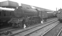 Waiting in the wings. Locally based K3 61972 in the sidings at the north end of Doncaster station in the summer of 1962. The 2-6-0 would shortly move forward to take charge of the 12.12pm service to Cleethorpes. <br><br>[K A Gray&nbsp;21/07/1962]
