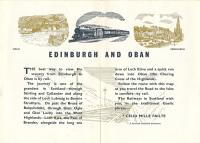 This is the introduction to British Railways' 1960 guidebook to the Edinburgh to Oban, via Stirling, route. The tourist attractions and beautiful scenery of the route were promoted, right to the end.<br><br>[Ewan Crawford Collection&nbsp;//]