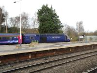 HST 43190 poised to head east.<br><br>[Peter Todd&nbsp;04/12/2015]