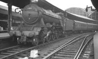 Gresley A3 Pacific 60086 <I>Gainsborough</I> photographed at Newcastle Central, thought to have been taken in 1960.<br><br>[K A Gray&nbsp;//1960]