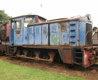 Among the exhibits at the Nairobi Railway Museum is this 1972 diesel 0-6-0 by Andrew Barclay of Kilmarnock, builder's plate no 567.<br><br>[Alistair MacKenzie&nbsp;17/03/2014]