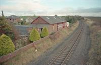 View east over Tarbolton station in 1997.<br><br>[Ewan Crawford&nbsp;//1997]