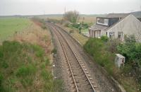 View west over the closed Drybridge station in 1997.<br><br>[Ewan Crawford&nbsp;//1997]