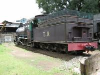 Tanganyika Railway locomotive no. 301 (later East African Railways no. 2302) is a 4-8-0 built by Beyer Peacock in 1923. It is now a static exhibit at the Railway Museum in Nairobi, restored to TR livery.<br> <br> <br><br>[Alistair MacKenzie&nbsp;17/03/2014]