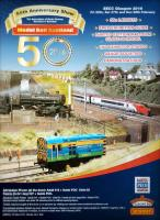The 50th Model Rail exhibition, which will be at the SECC from the 26th to 28th of February, is being advertised. <a target='external' href='http://www.modelrail-scotland.co.uk/'>Model Rail Scotland Website</a><br><br>[John Yellowlees&nbsp;21/01/2016]