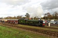 6990 Witherslack Hall, GWR 4-6-0, recently restored.<br><br>[Peter Todd&nbsp;29/01/2016]