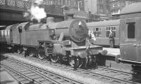 Fowler 2-6-4T no 42313 engaged in manoeuvres at Carlisle station in the summer of 1963 <br><br>[K A Gray&nbsp;12/07/1963]