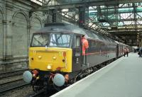 47798 'Prince William' on Royal Train duties at Edinburgh Waverley in May 2002. Access with permission.<br><br>[Bill Roberton&nbsp;28/05/2002]