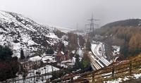 A wintry scene at the site of Woodhead station - [see image 26133].<br> <br><br>[John Thorn&nbsp;08/03/2016]