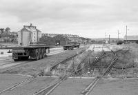Disused sidings at Methil Docks in 1989.<br><br>[Bill Roberton&nbsp;//1989]