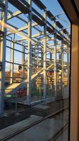 Edinburgh Gateway viewed from a passing tram.<br><br>[John Yellowlees&nbsp;20/03/2016]