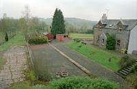 View east over the site of New Galloway station in 1997.<br><br>[Ewan Crawford&nbsp;//1997]