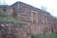 Base of the former signal box at Wemyss Bay in 2006. [See image 5758] for a view of this while still standing.<br><br>[Ewan Crawford&nbsp;08/05/2006]