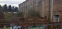 These locos at Sinclairtown can clearly be seen from the train, until the trees come into leaf.  I believe they belong to a scrap merchant. Why is nobody saving them?<br><br>[John Yellowlees&nbsp;23/04/2016]