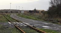 A ground level view at Margam, towards the now closed wagon repair sheds.<br><br>[Alastair McLellan&nbsp;04/01/2012]