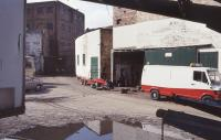 Former Kinleith Paper Mill on 10 April 1993. [See image 55024].<br><br>[Bill Roberton&nbsp;10/04/1993]