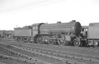 Gresley K3 2-6-0 61812 in the shed yard at Doncaster, thought to have been taken in 1960.<br><br>[K A Gray&nbsp;//1960]